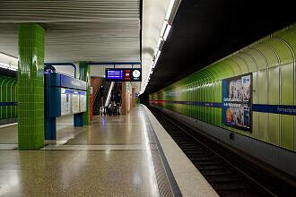 U-Bahnhof Partnachplatz