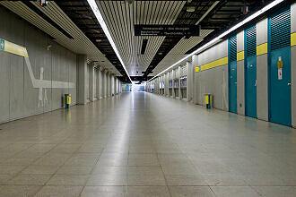 Tunnel zum ehemaligen Haupteingang der Messe auf der Schwanthalerhöhe