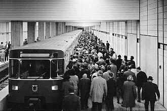 Erste Testfahrten der neuen U-Bahn