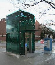 Lift zum U-Bahnhof Wettersteinplatz