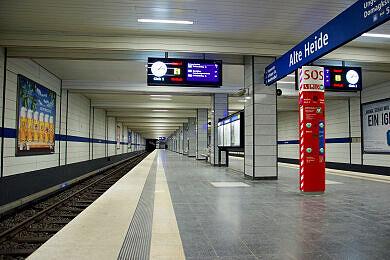 U-Bahnhof Alte Heide
