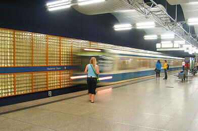 U-Bahnhof Haderner Stern