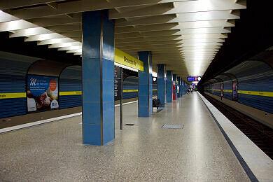 U-Bahnhof Westendstraße