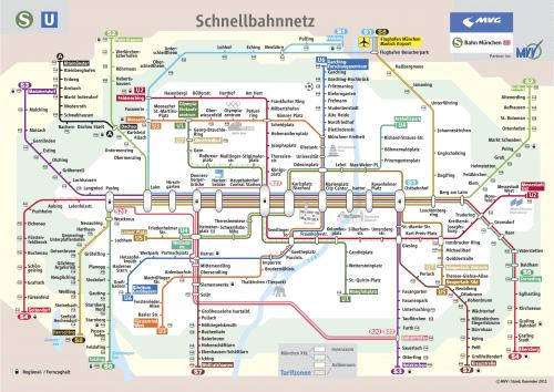 Schnellbahnnetzplan Dezember 2011