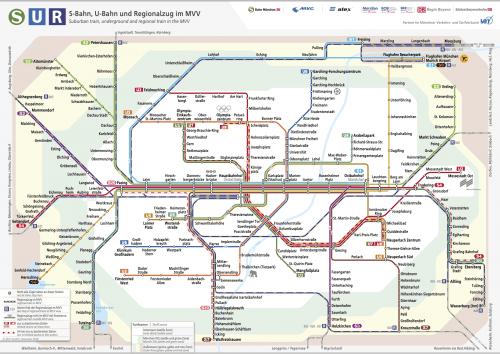 Schnellbahnnetzplan Dezember 2018