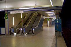U-Bahnhof Aidenbachstraße, Aufgänge Richtung Busbahnhof