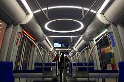 Beleuchtungskonzept des C2-Zuges