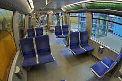Innenraum eines C-Zuges