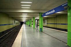U-Bahnhof Dietlindenstraße Gleis 1
