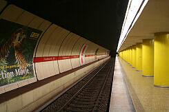 U-Bahnhof Fraunhoferstraße Gleis 2