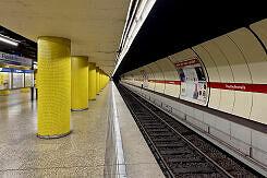 U-Bahnhof Fraunhoferstraße Gleis 1