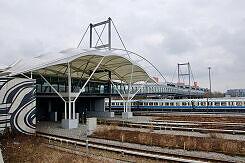 U-Bahnhof Fröttmaning von Süden