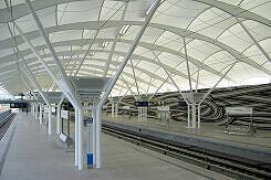 Fröttmaning Bahnsteig stadtauswärts