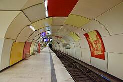 U-Bahnhof Garching Gleis 1