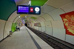 U-Bahnhof Garching Gleis 2