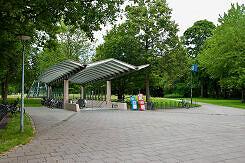 Südlicher Zugang zum U-Bahnhof Harthof
