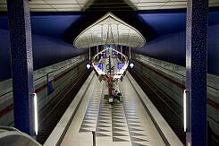 Westlicher Zugang zum U-Bahnhof Hasenbergl