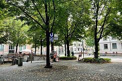 Oberfläche am namensgebenden Hohenzollernplatz