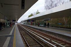 U-Bahnhof Kieferngarten von Süden gesehen