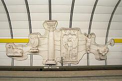 Kunst im U-Bahnhof Lehel