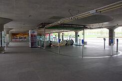 Östlicher Zugang zum U-Bahnhof Messestadt West