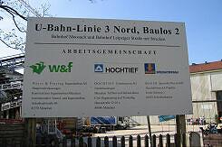 Arbeitsgemeinschaft der beteiligten Baufirmen in Moosach