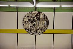 Bild des Odeonsaals im U-Bahnhof Odeonsplatz