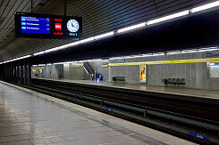 U-Bahnhof Richard-Strauss-Straße Gleis 2