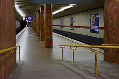 Zugangsrampe im U-Bahnhof Therese-Giehse-Allee