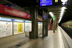 U-Bahnhof Untersbergstraße Gleis 2