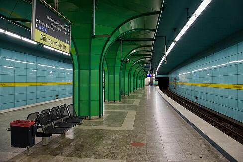 U-Bahnhof Böhmerwaldplatz