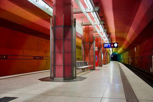 Candidplatz Gleis 2