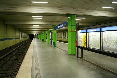 Dietlindenstraße Gleis 1