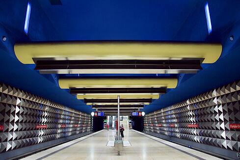 U-Bahnhof Olympia-Einkaufszentrum (U3)