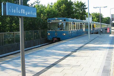 A-Wagen 307 am Kieferngarten