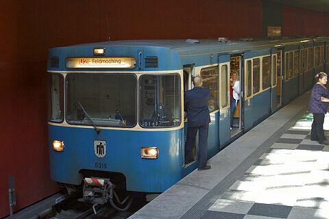 A-Wagen 319 im bauma-Einsatz
