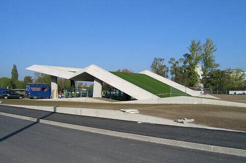 U-Bahn-Eingang Garching-Forschungszentrum