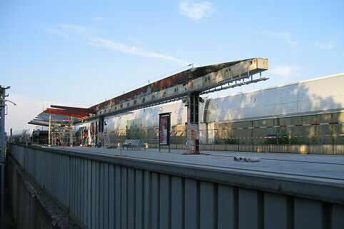 Bahnsteigdachsanierung Freimann