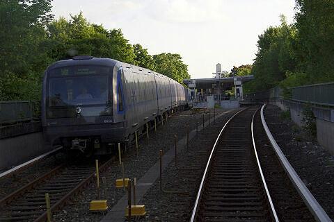 C-Zug 616 auf freier Strecke nördlich Studentenstadt