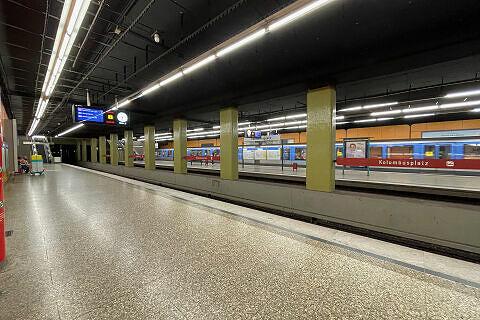 Kolumbusplatz Gleis 2