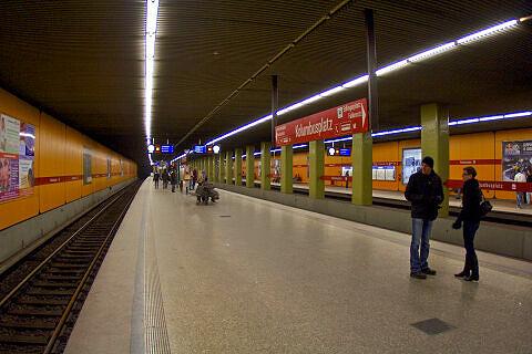 Kolumbusplatz Gleis 1+3