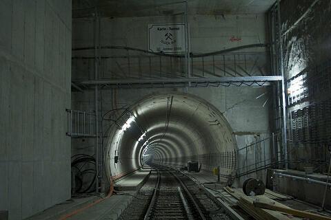 """Der """"Karin-Tunnel"""""""