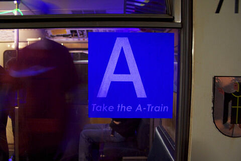 Fahrt in der Party-U-Bahn: Take the A-Train