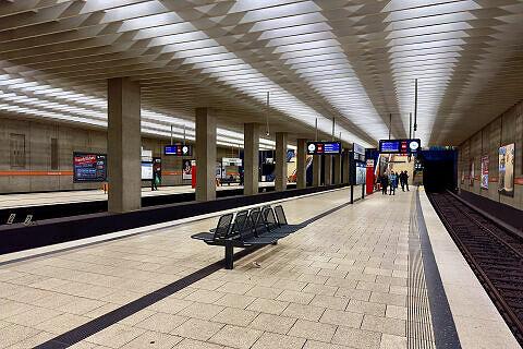 U-Bahnhof Scheidplatz, Gleis 2/4