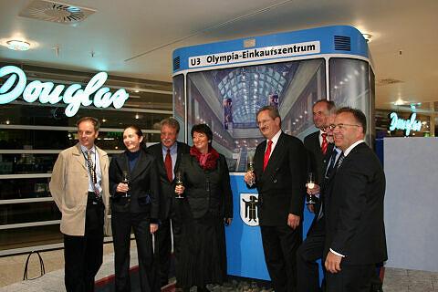 Empfang im OEZ nach der Eröffnung