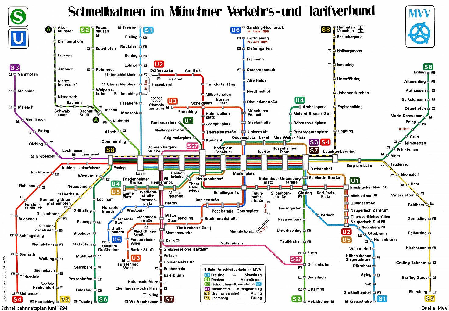 München u-bahn zonen plan München U
