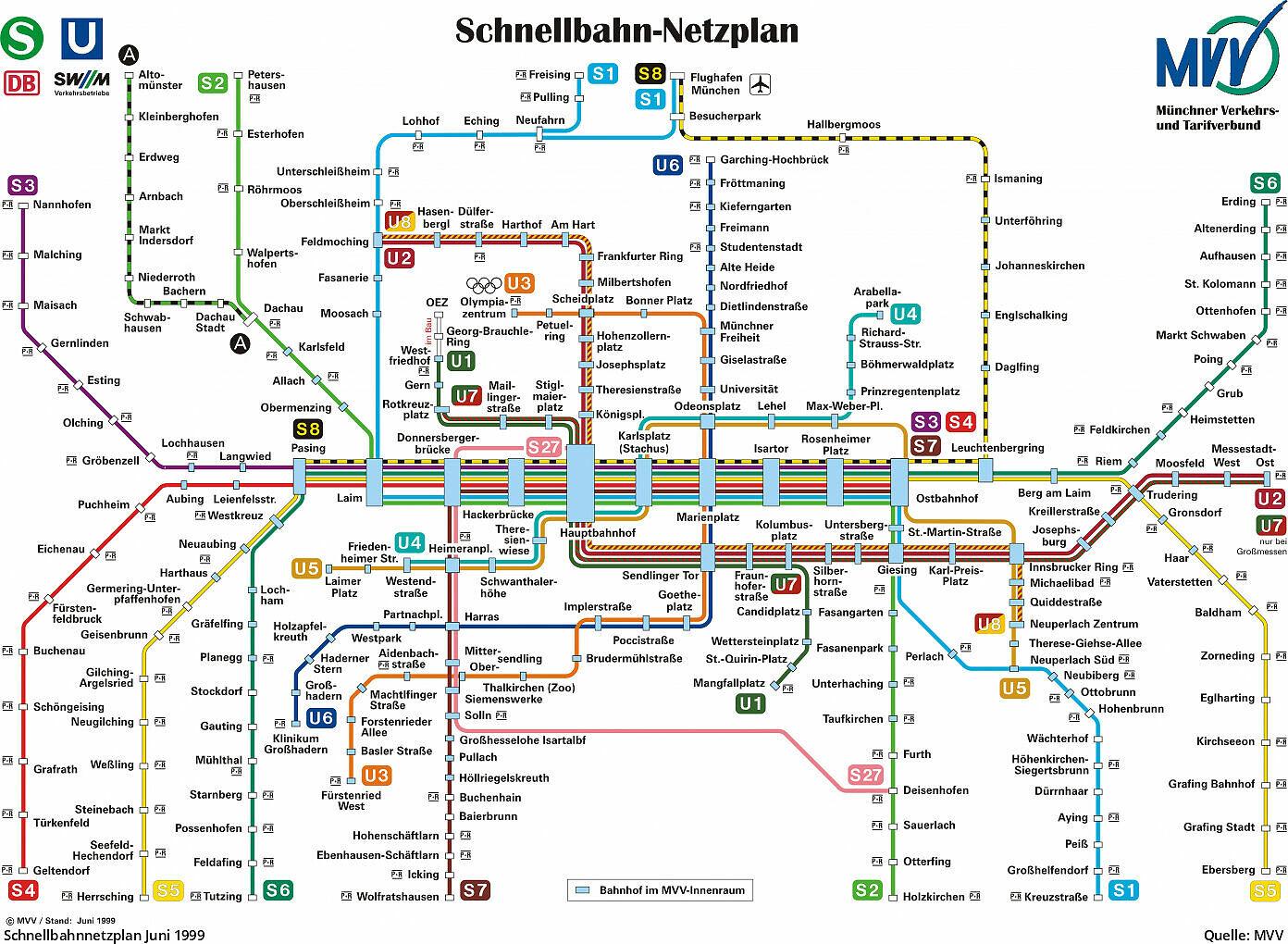 u bahn karte münchen Metro map Of: u bahn plan münchen u bahn plan münchen u bahn karte münchen