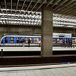 U-Bahnhof Scheidplatz, Blick auf Gleis 1/3