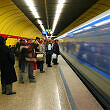 Einfahrender C-Zug am Sendlinger Tor