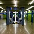 Sperrengeschoss im U-Bahnhof Westpark
